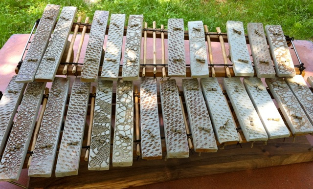 percussion clavier chromatique fabrication artisanale