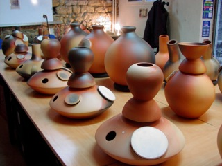 udu drum percussion poterie