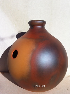 udu drum french clay